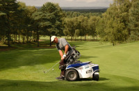 Golfer at the Disabled British Open 2009 by Steve Bailey
