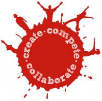 create compete collaborate logo