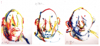 Image of 3 of Sir Quentin Blake's Rainbow Senneliers